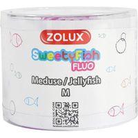 Zolux dekoracja akwarystyczna sweetyfish fluo meduza m - darmowa dostawa od 95 zł! (3336023520810)