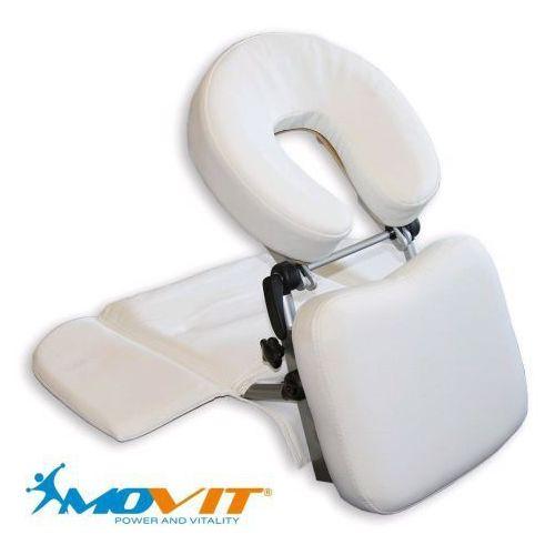 Przenośny zagłówek do masażu MOVIT biały