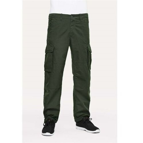 spodnie REELL - Cargo Ripstop Forest Green Ripstop Forest Green (Ripstop Forest Green), kolor zielony