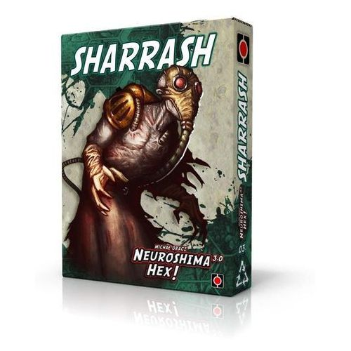 Portal games Neuroshima hex 3.0. sharrash