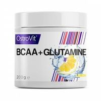 OSTROVIT BCAA+GLUTAMINE 200g LEMON Aminokwasy