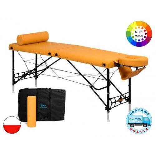 Składany stół do masażu Lite Sport ALU z regulacją wysokości