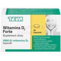 Witamina D3 FORTE 2000 IU 50µg 60kaps (5900004074043)