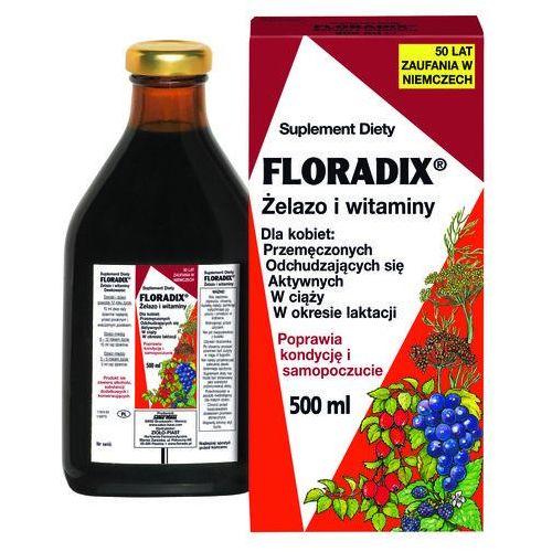 Płyn FLORADIX Żelazo i witaminy płyn - 500 ml