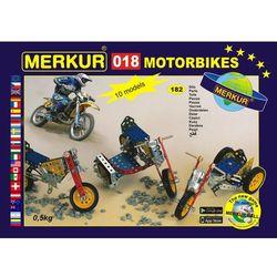 Merkur Zestaw 018 Motocykle 10 modeli 182 szt - BEZPŁATNY ODBIÓR: WROCŁAW!