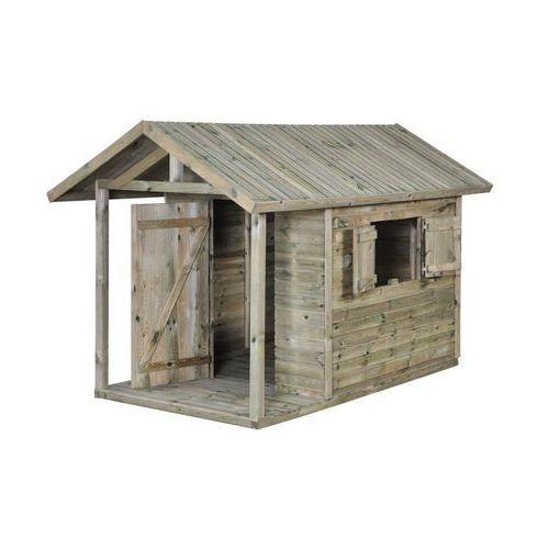 Domek dla dzieci JAKOB 150 x 242,5 x 160 cm SOBEX (5908235389332)