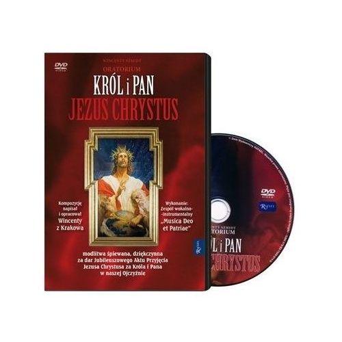 Oratorium król i pan jezus chrystus - książeczka z filmem dvd Praca zbiorowa