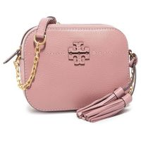 Torebka TORY BURCH - Mcgraw Camera 50584 Pink Magnolia