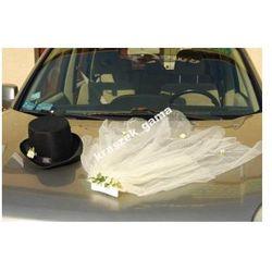 Dekoracje ślubne samochodu  Kraszek