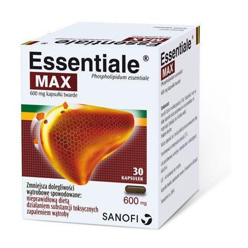Kapsułki ESSENTIALE MAX 600mg x 30 kapsułek