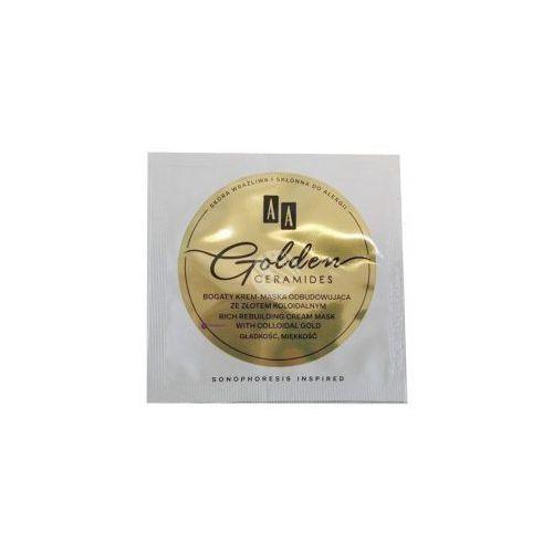 PRÓBKA AA Golden Ceramides (W) bogaty krem-maska odbudowujący