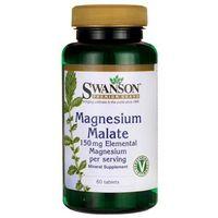 SWANSON Jabłczan Magnezu - 60 tabletek wegetariańskich