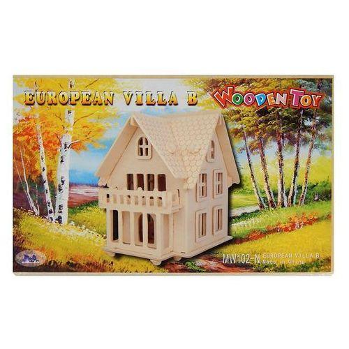 Willa II puzzle drewniane 3D