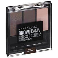MAYBELLINE - MASTER BROW - Pro Palette - Zestaw do makijażu brwi - SOFT BROWN (3600531288761)