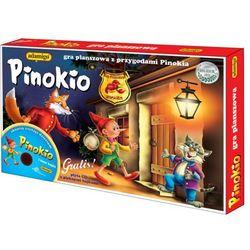 Pinokio. gra planszowa + płyta cd z pięknymi bajkami