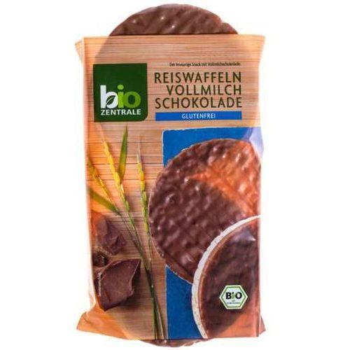 111bio zentrale Wafle ryżowe w mlecznej czekoladzie b/g 100g - bio zentrale eko