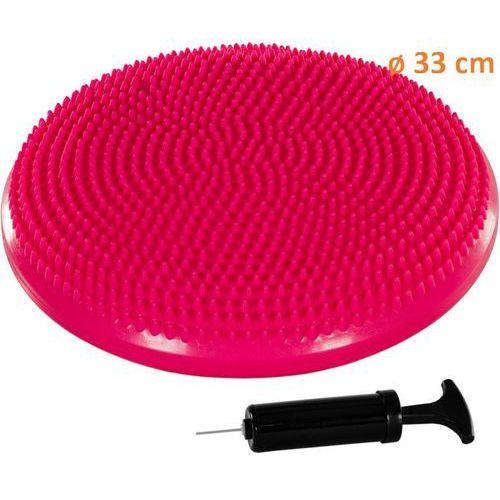 Poduszka do ćwiczeń równoważnych MOVIT Ø 33 cm różowa