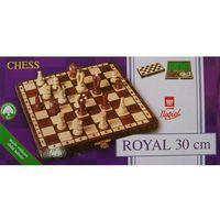 Szachy drewniane Królewskie Royal 30 Chess, REF.093