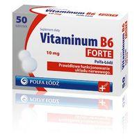 Tabletki VITAMINUM B6 Forte 10mg x 50 tabletek