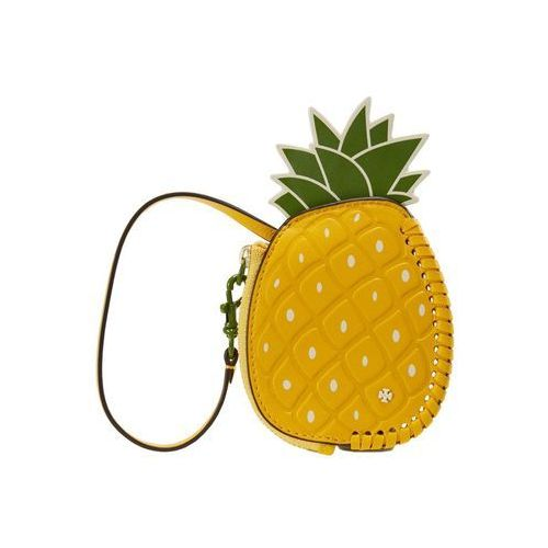 Tory Burch PINEAPPLE COIN POUCH KEY FOB Portfel daisy