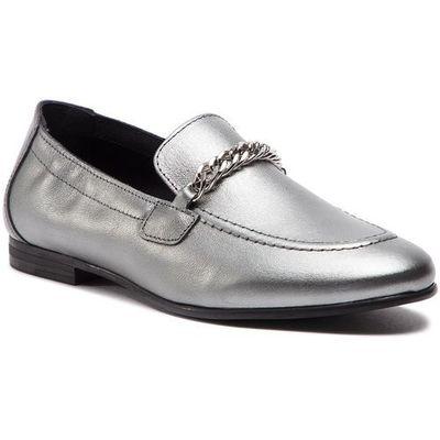 59090dffb4d27 Lordsy TOMMY HILFIGER - Rubberized Chain Heeled Sandal FW0FW03891 Light  Silver 016, w 7 rozmiarach eobuwie.pl