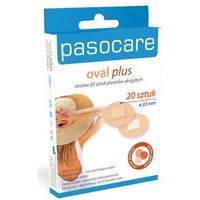 Paso Care oval plus x 20 sztuk