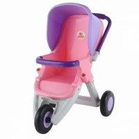 Wózek dla lalek spacerowy 3-kołowy - polesie poland marki Wader-polesie