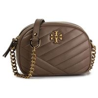 Torebka TORY BURCH - Kira Chevron Small Camera Bag 60227 Classic Taupe 250