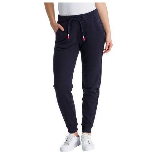 spodnie dresowe BENCH - Her. Sweat Pants Essentially Navy (BL11341), kolor niebieski