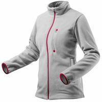 Bluza polarowa damska, szara, rozmiar S 80-501-S