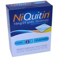 NiQuitin plast. 14mg/24h x 7 (5909990985814)