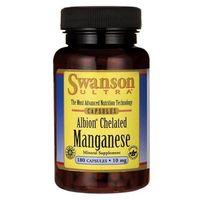 Kapsułki Swanson Albion Chelat Mangan 10 mg 180 kapsułek