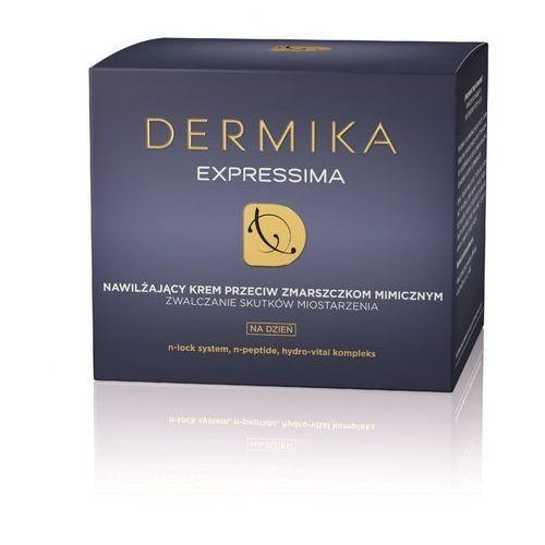 Expressima, 50 ml. nawilżający krem przeciw zmarszczkom na dzień - dermika darmowa dostawa kiosk ruchu Dermika