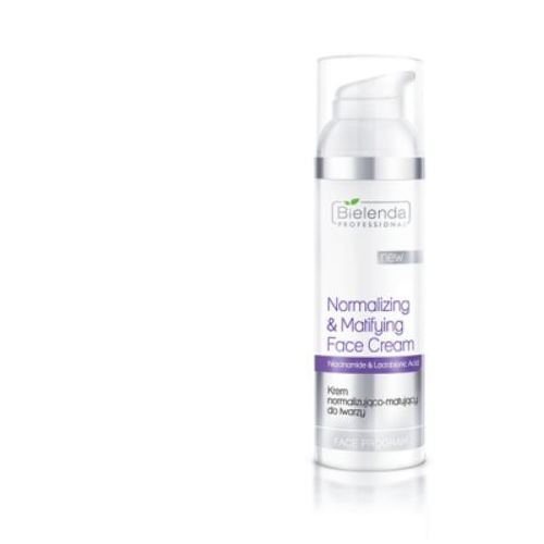 Bielenda professional normalizing and matifying face cream krem normalizująco-matujący do twarzy spf 15 - 100 ml