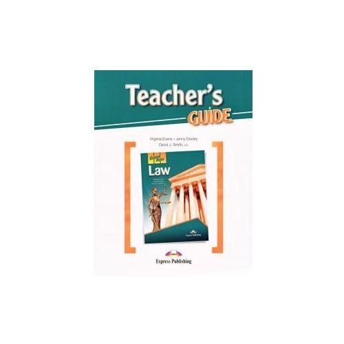 Law. Career Paths. Teacher's Guide (2016)