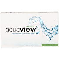 Interojo Wyprzedaż!!! aquaview toric 3 szt. cyl. -2,25
