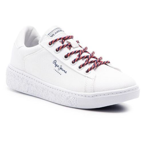 Sneakersy PEPE JEANS - Roxy Summer PLS30855 White 800