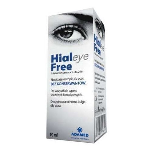 Adamed Hialeye free 0,2% krople do oczu 10 ml