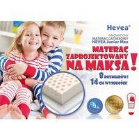 Materac lateksowy  junior max 160x90 + poduszka 45x45 gratis!! marki Hevea