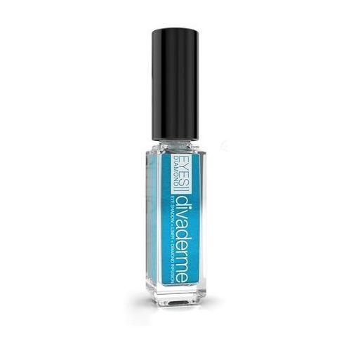 Divaderme eyes diamonds - cień do powiek z pyłem diamentowym: satynowy błękit 9 ml
