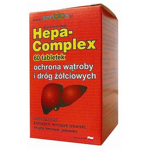 HEPA-COMPLEX 60 tabletek Ochrona wątroby (5908230845130)