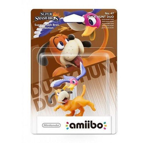 Figurka amiibo super smash no. 47 - duck hunt duo marki Nintendo