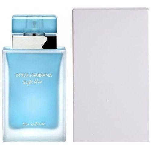 Dolce & Gabbana Light Blue Eau Intense, Woda perfumowana - Tester, 100ml
