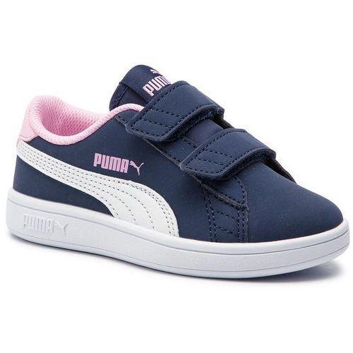 Sneakersy Smash V2 Buck V Ps 365183 09 Peacoat WhitePale Pink, kolor niebieski (Puma)