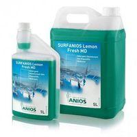 Surf / lemon fresh płyn do mycia wyrobów i powierzchni medycznych, pojemność: 1 l marki Anios