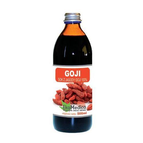 Eka Medica Goji 100% sok z owoców goji 500ml, EKA MEDICA