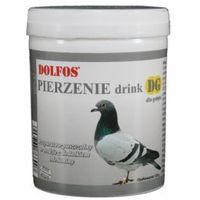 dg pierzenie drink - rozpuszczalny preparat dla gołębi z dodatkiem metioniny 120g marki Dolfos