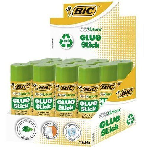 Bic Klej ecolutions glue stic 36g display 12 sztuk