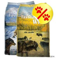Dwupak - pacific stream puppy i high prairie puppy | dostawa gratis! marki Taste of the wild