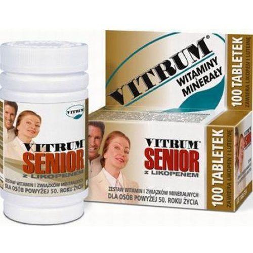 Tabletki VITRUM SENIOR Z likopenem x 100 tabletek